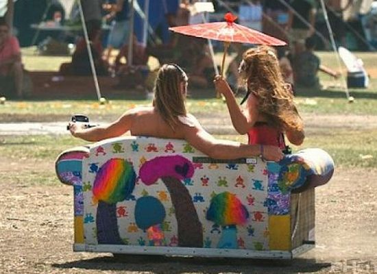 Festival Couch Adds Wheels Fun To Your Regular Sofa