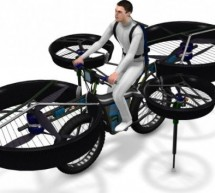 Flying Bike takes you from ground to air instantly