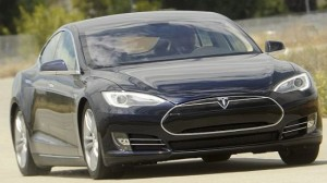 Tesla Model S electric car 1