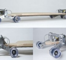 Stair Rover lets you skateboard  in style on stairs