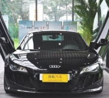 German tuner gives Audi R8 V10 a Lamborghini makeover