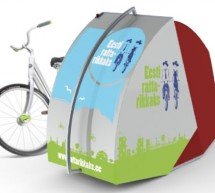 Bike locker to protect your bike in city streets