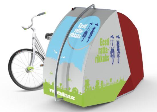 Diy Bike Locker Bike Locker_03