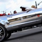Chromed Chevrolet Camaro SS  1