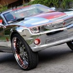 Chromed Chevrolet Camaro SS