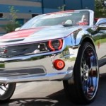 Chromed Chevrolet Camaro SS  3