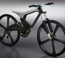 Foldable electric X-bike combines urban cycling with mountain biking