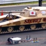Japanese jet powered Tank