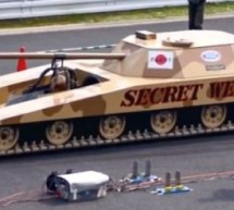 Japanese jet powered Tank is frighteningly awesome