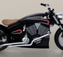 Designer imagines production version Victory cruiser motorcycle