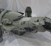 21 months in the making, Lego Firefly's Serenity is incredible feat of Lego engineering