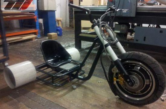 April Blog: Custom Built Trikes