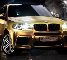 Blinged wheels: BMW X5 M gets a gilded makeover