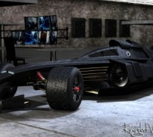 Jet-powered F1 Batmobile Tumbler for Caped Crusader to excel in F1 racing