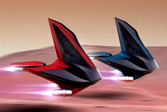 Peugeot Voilier Is A Concept Vehicle For Mars Around 2080