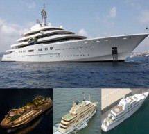 Largest superyachts that are moving castles on waters