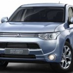 2014 Outlander PHEV, world's first plug-in Hybrid SUV