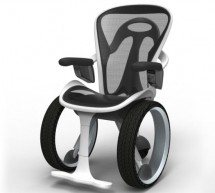 Designer imagines the Audi R8 of wheelchairs