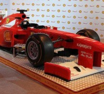 Full size F1 Lego car ready to face any similar creation on track