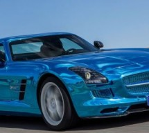 Revealed: Mercedes-Benz SLS AMG Electric Drive