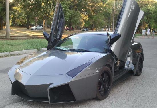 Mitsubishi Eclipse based Lamborghini Reventon 8