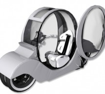 Motor Capsule Motorcycle offers thrilling green rides with safety of a car