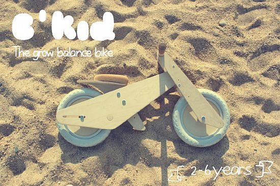 B'Kid wooden bike