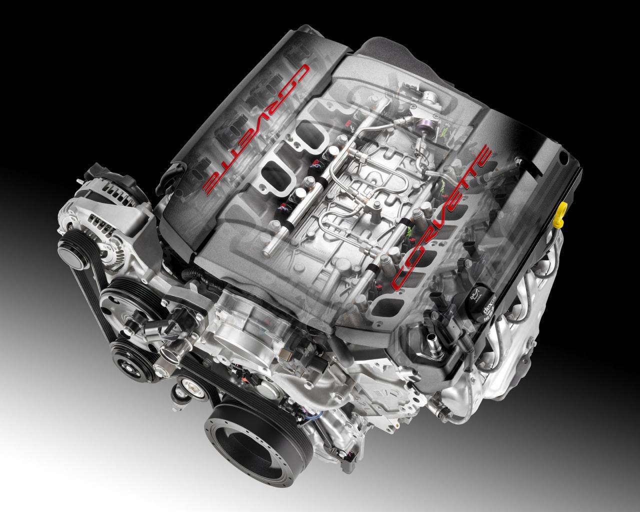 6.2 Liter Chevy Engine