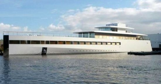 Steve Jobs' Venus Superyacht 8
