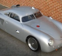 Porsche 356 Silver Bullet Hot Rod is hot, really hot