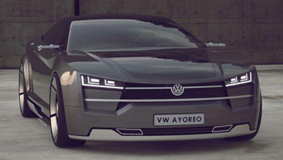 All electric Volkswagen Ayoreo concept 7