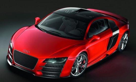 Audi diesel-electric supercar