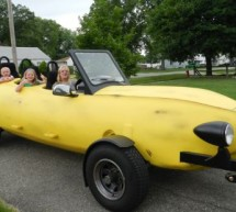 DIYer chops and molds Ford F-150 into a Banana Car