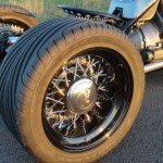 Ford Flathead V8 powered trike 10