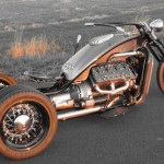Ford Flathead V8 powered trike 11