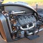 Ford Flathead V8 powered trike