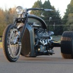 Ford Flathead V8 powered trike 2