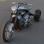 Ford Flathead V8 powered trike 4
