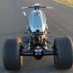 Ford Flathead V8 powered trike 8