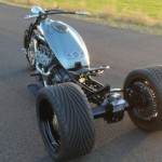 Ford Flathead V8 powered trike 9