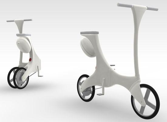 Fwave folding e-Bike