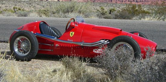 Marco Srour scaled 1952 Ferrari F2 500 race car