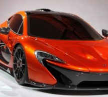 2014 McLaren P1 supercar unveiled at NYC, again