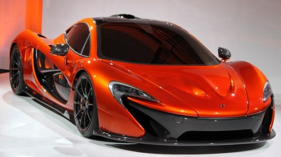 McLaren P1 supercar  7