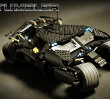 RC fully functional Lego Tumbler Batmobile to make Batman jealous