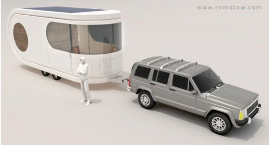 USB drive inspired Romotow camping trailer 1