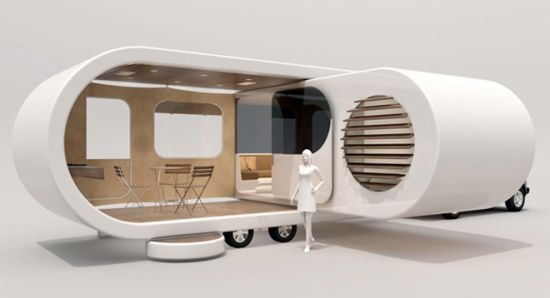 USB drive inspired Romotow camping trailer