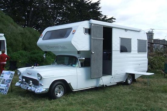 1955 Chevy Campervan