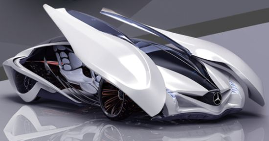 Dolphin concept car mimics its namesake for agility, power and grace 1