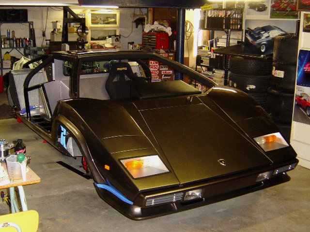 homemade lamborghini countach 5 auto chunk. Black Bedroom Furniture Sets. Home Design Ideas